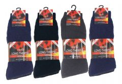 Mens 12 pairs BNG long thermal socks MN772435